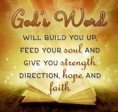 God's word - a feast for your soul.