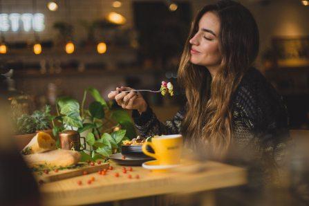 woman food