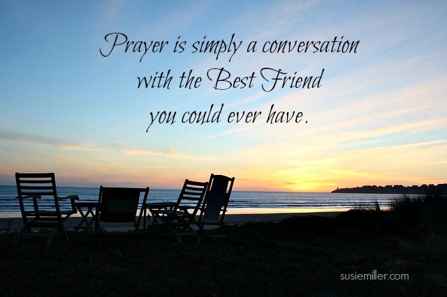 conversatonal prayer
